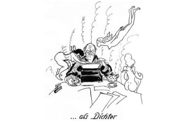 Theo-Karikaturen gefunden