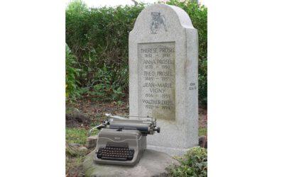 Wie ein Grabstein zum Denkmal wurde