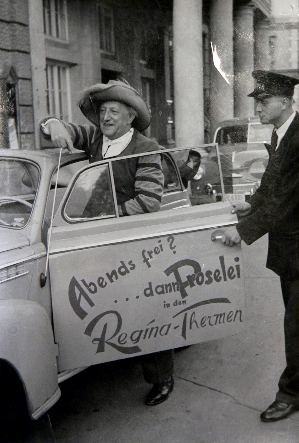 Theo mit Auto Proselei